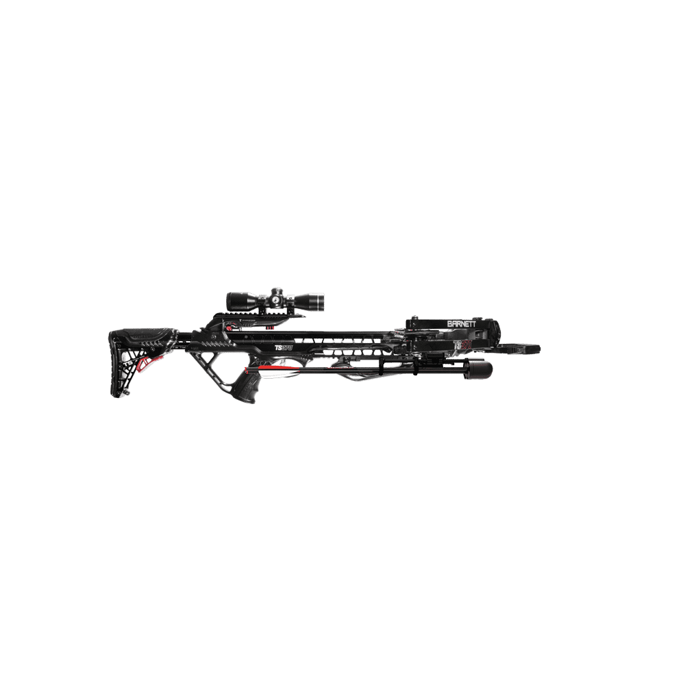 BARNETT TS370 CROSSBOW PKG WITH EASY 1 BOLT ASSEMBLY AND CRANK COCKING  DEVICE