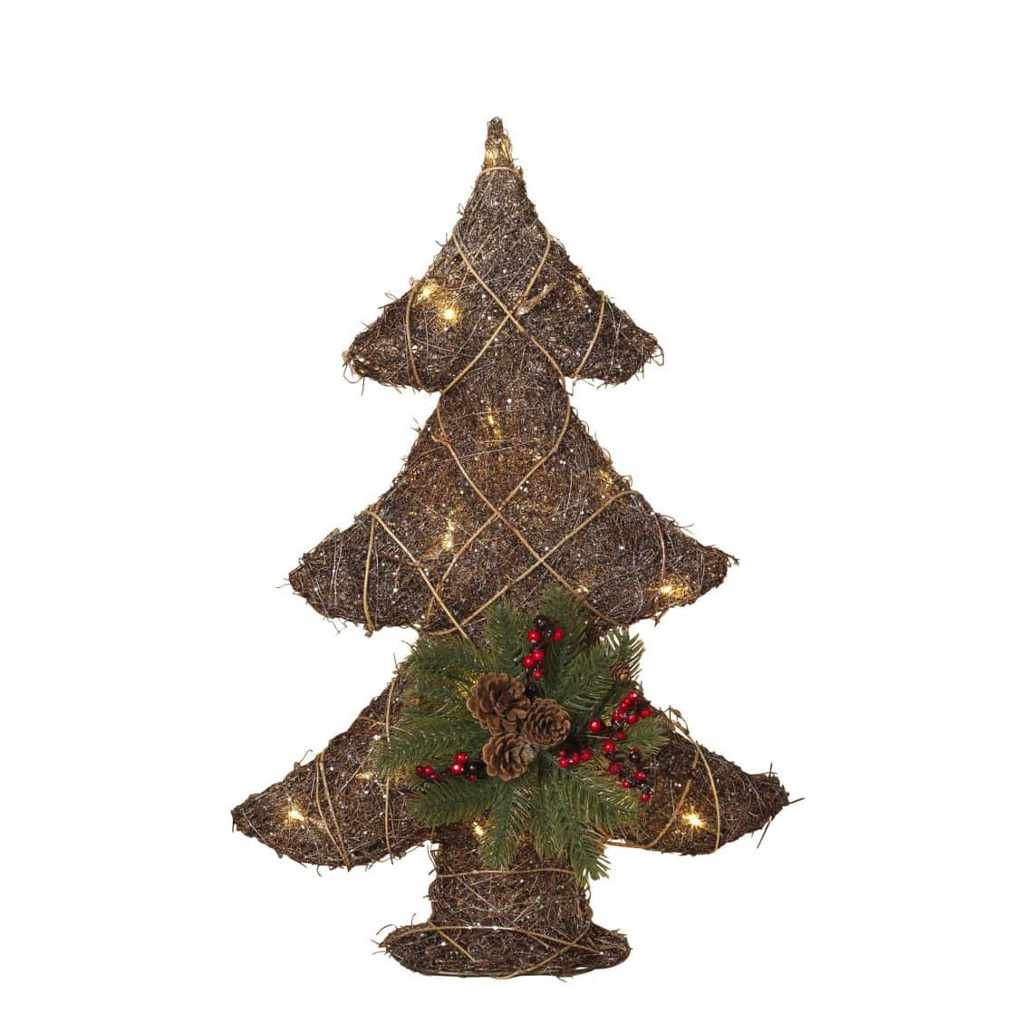 26-Inch Lighted Grapevine Tree - Northwoods Wholesale Outlet
