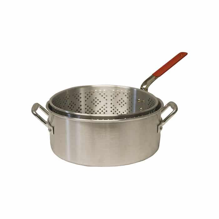 Masterbuilt aluminum 12 frying pot basket northwoods for Fish fryer pot