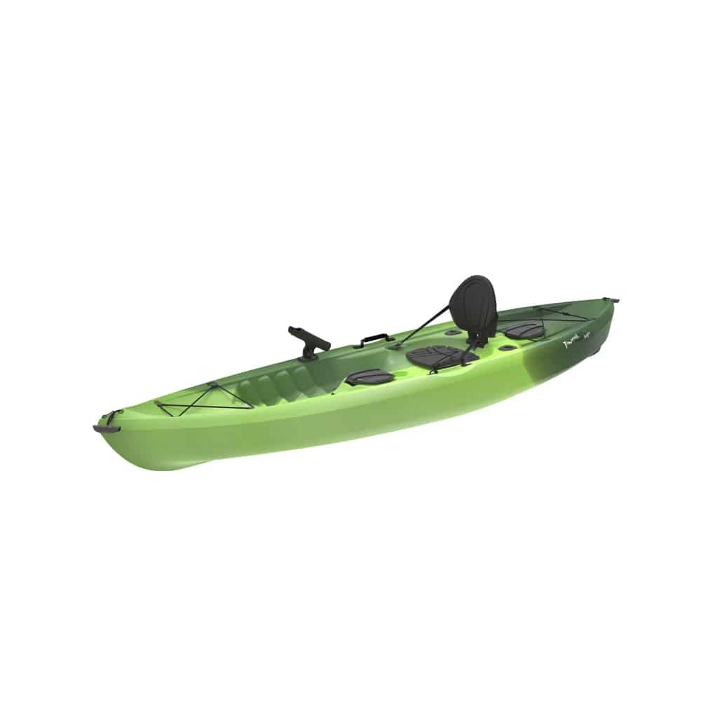 Lifetime tamarack angler 100 fishing kayak northwoods for Tamarack fishing kayak