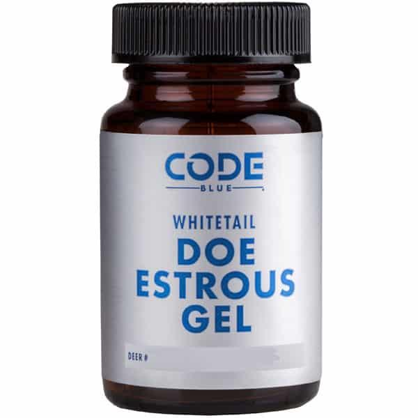 CODE BLUE WHITETAIL DOE ESTROUS GEL