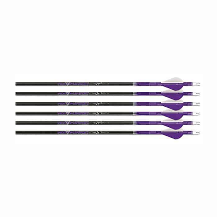 Carbon-Express-50608-Hot-Pursuit-Ultra-Light-Fletched-Carbon-Arrows