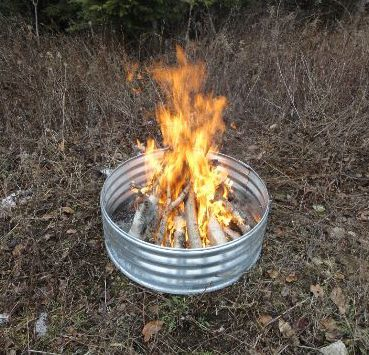 Galvanized Steel Fire Pit Rings Grates Northwoods Wholesale Outlet