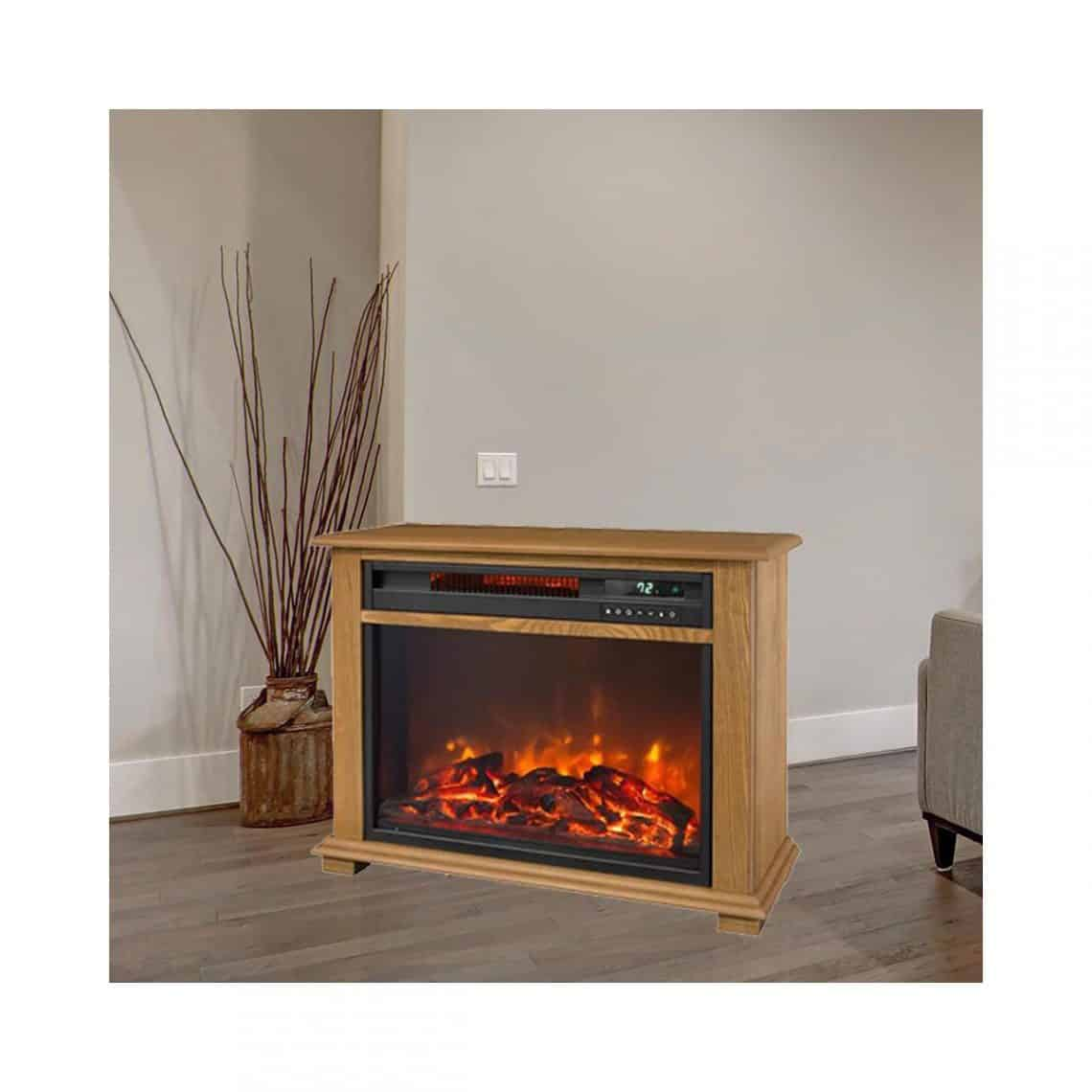 Lifesmart Portable Fireplace Heater Northwoods Wholesale