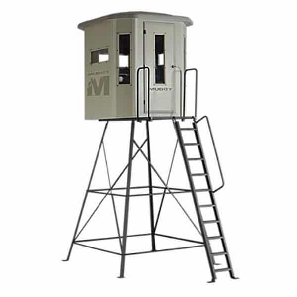 MUDDY 'THE BULL' BOX HUNTING BLIND WITH STAND - Northwoods Wholesale