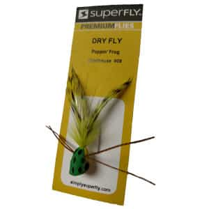 SUPERFLY DRY FLY POPPIN FROG