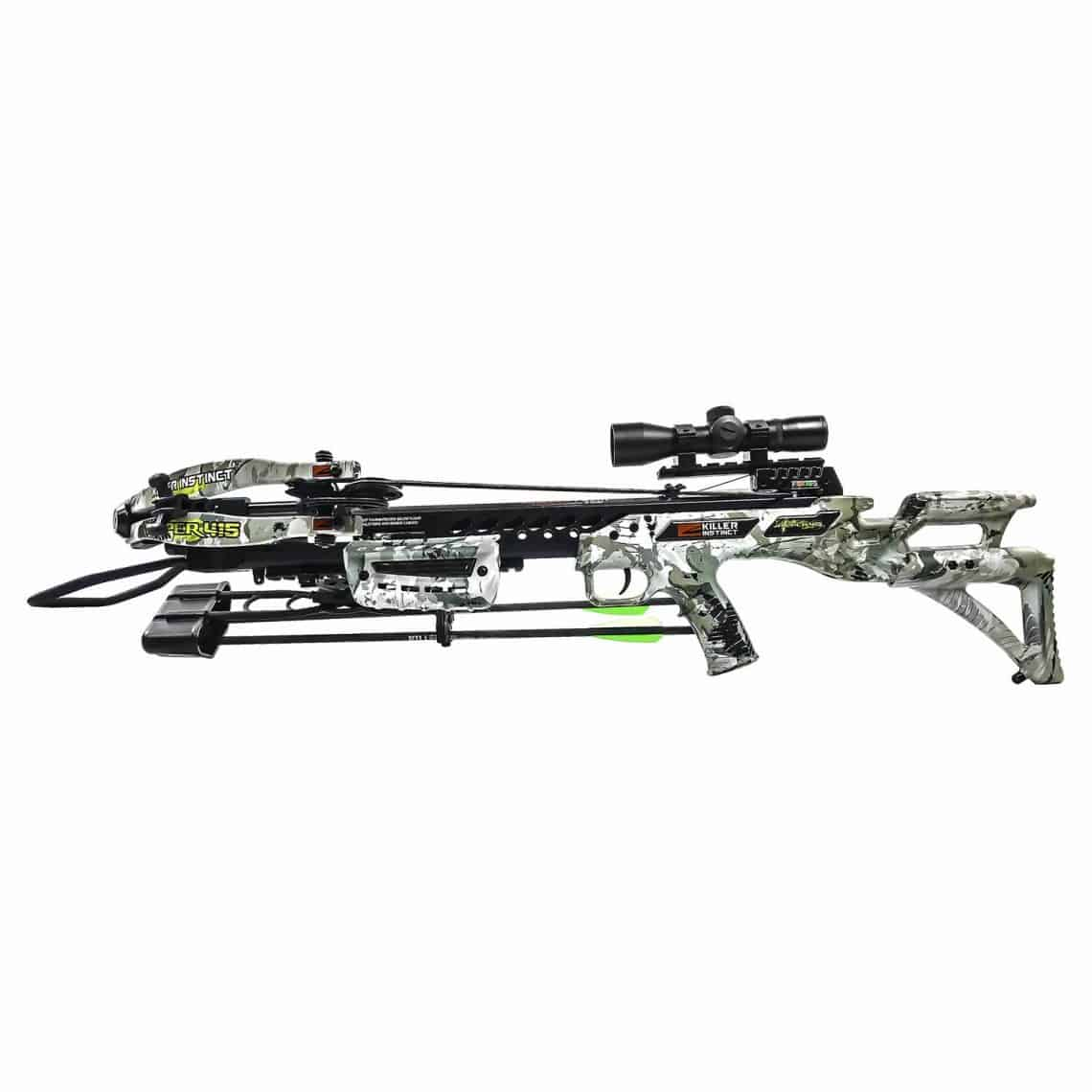 KILLER INSTINCT RIPPER 415 CROSSBOW WITH 3 FREE KILLERTECH LUMIX LIGHTED  BOLTS & FREE SHIPPING!