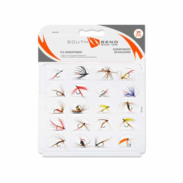 SOUTHBEND 20 PC FLY ASSORTMENT