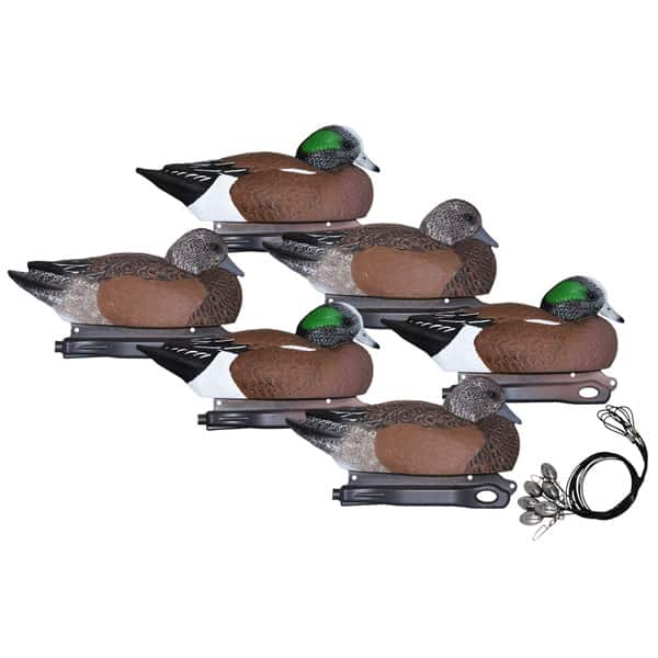 HARD CORE WIGEON PRE RIGGED 6 PACK