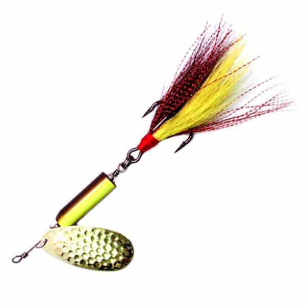 BIRD-SHOT BUCKTAIL SPINNER