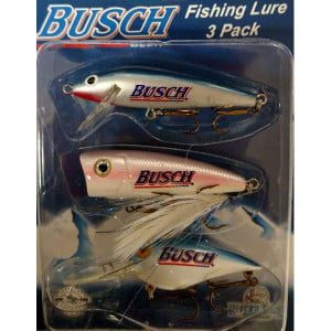 BUSCH FISHING LURE 3 PACK