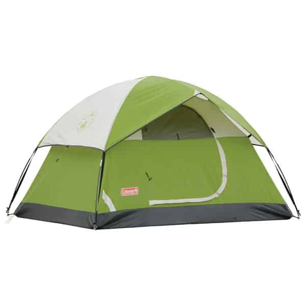 coleman 3 person sundome