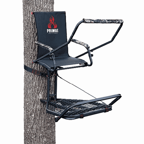 Hang On Hunting Treestand Platform Crossbow Bow Shooting Rail /& Safety Harness