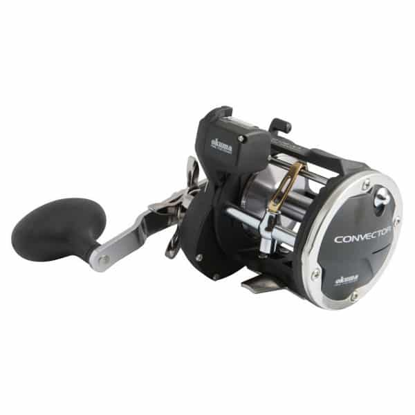 Okuma convector line counter levelwind trolling reel cv for Line counter fishing reels