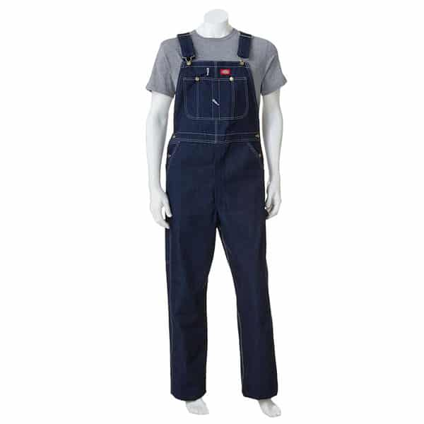 DICKIES DARK WASH BIB OVERALL