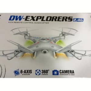DW EXPLORERS DRONE WITH CAMERA