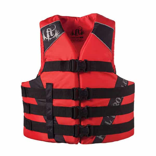 2-pk full throttle life vest adult