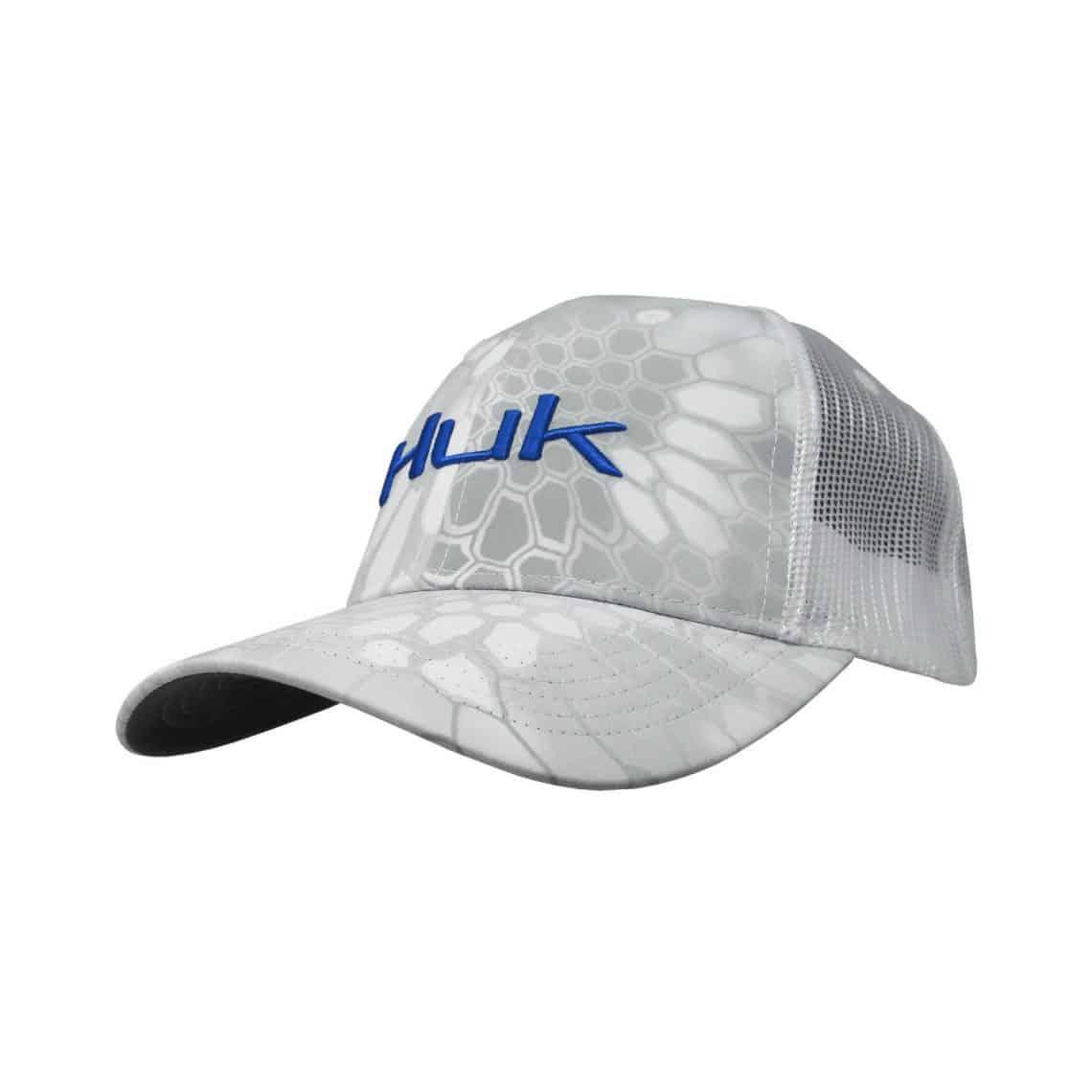 Huk kryptek logo trucker cap northwoods wholesale outlet for Huk fishing hats