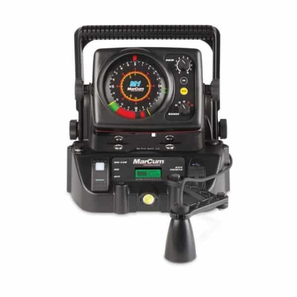 Marcum sonar m1 flasher lithium combo northwoods for Cheap ice fishing flasher