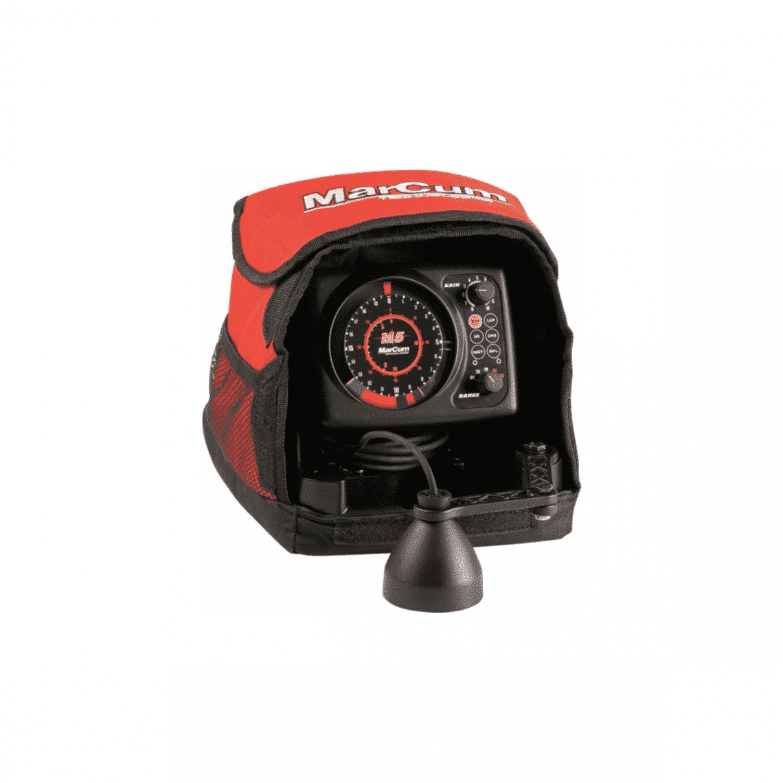 Marcum sonar m5 flasher lithium combo m5li northwoods for Cheap ice fishing flasher