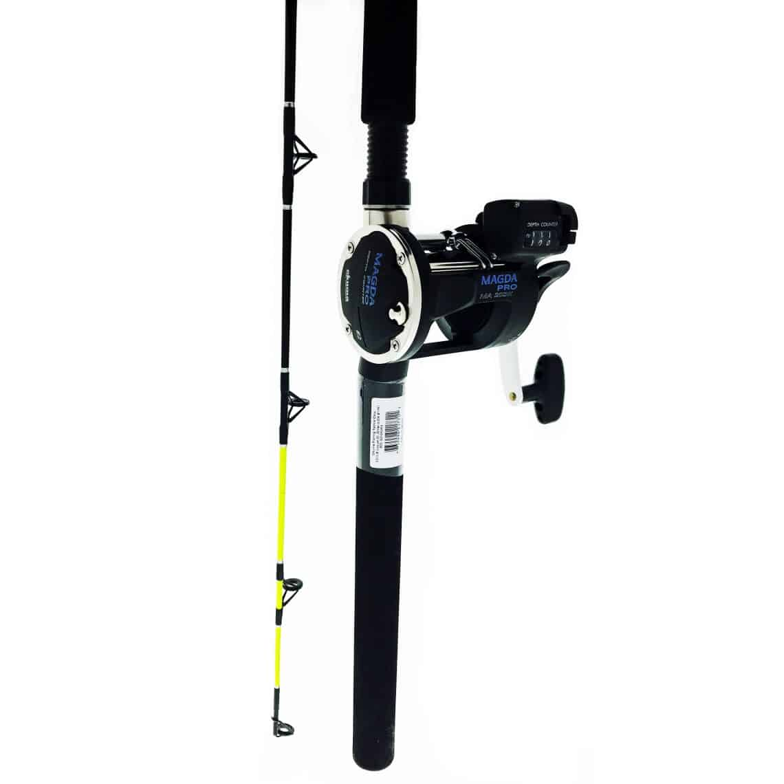 OKUMA CP-LC-7 ROD WITH 15DXT or 20DXT REEL TROLLING COMBO
