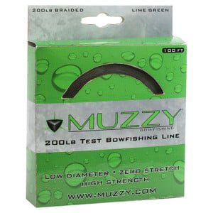 MUZZY 200LB TEST BOWFISHING LINE