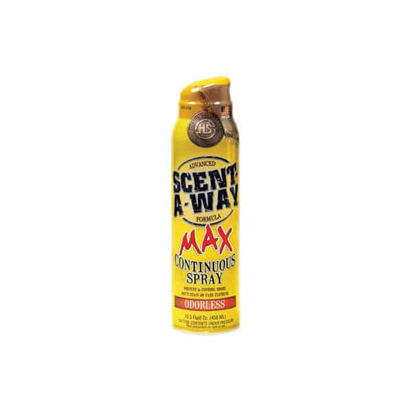 SCENT-A-WAY MAX ODORLESS SPRAY