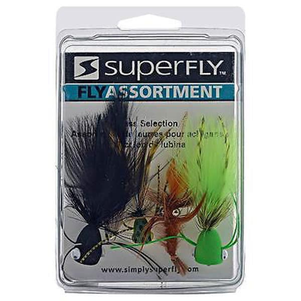 SUPERFLY BASS ASSORTMENT FLIES