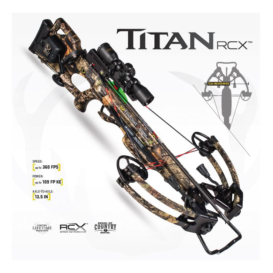 TEN POINT TITAN RCX CROSSBOW PACKAGE - FREE SHIPPING