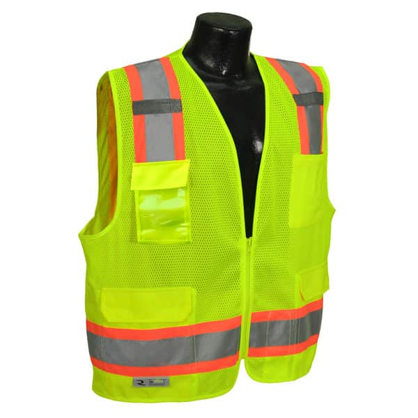 HI VIS SAFETY TWO TONE SURVEYOR
